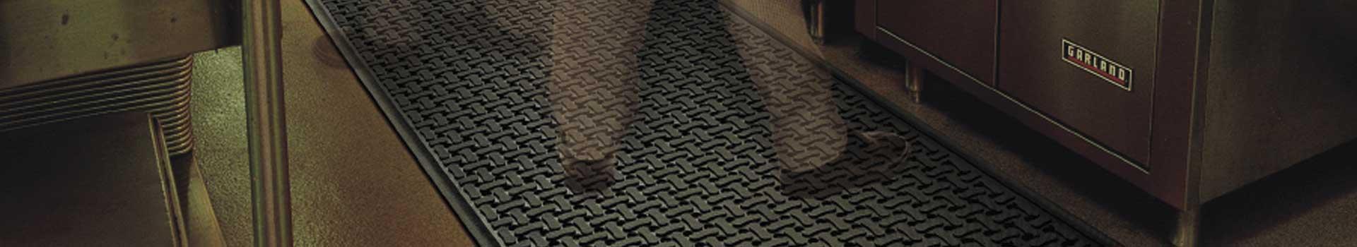 Imagen de alfombra antifatiga y antisuciedad