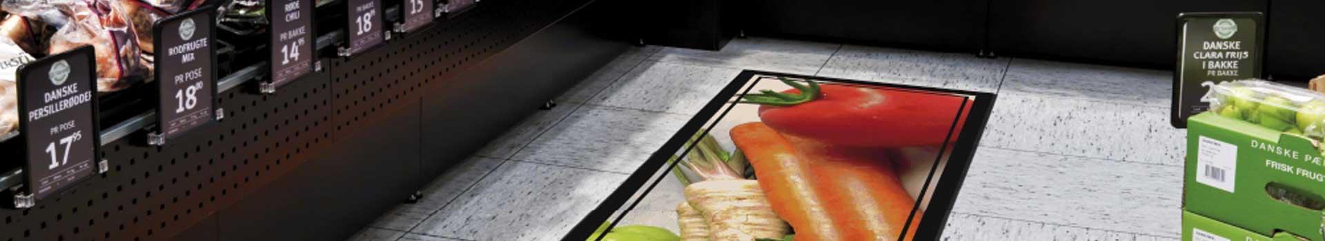 Ejemplo de alfombras promocionales